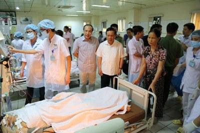 Ảnh minh họa chụp tại Bệnh viện Đa khoa tỉnh Hòa Bình hôm 29/05/2017.