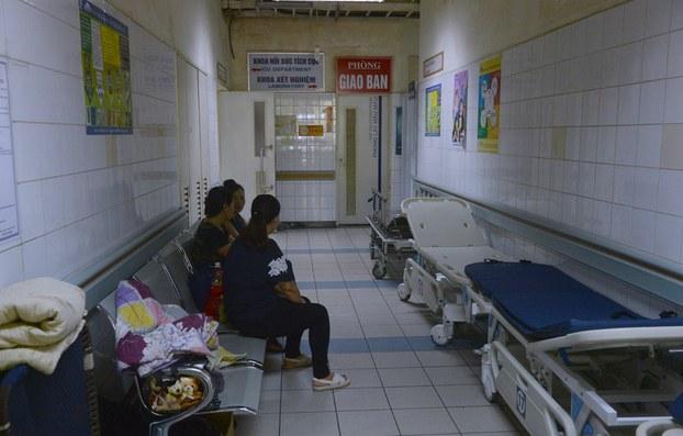 Ảnh minh họa chụp tại Bệnh viện Đa khoa tỉnh Hòa Bình hôm 30/05/2017.
