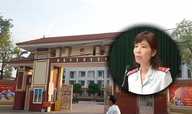 Bà Nguyễn Thị Kim Anh trưởng đoàn thanh tra Bộ Xây dựng bị bắt quả tang nhận hối lộ tại tỉnh Vĩnh Phúc.
