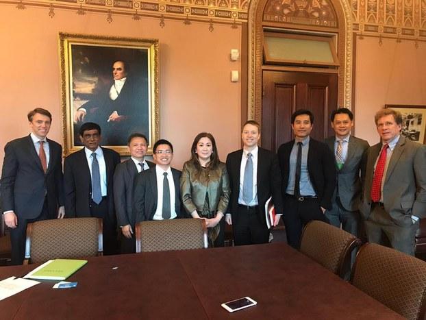 Vào ngày thứ Sáu 26 tháng 5 đại diện Hội Đồng An Ninh Quốc Gia Mỹ (NSC) có cuộc gặp với một số nhà hoạt động thuộc các tổ chức chính trị người Mỹ gốc Việt trước khi thủ tướng Việt Nam Nguyễn Xuân Phúc đến Hoa Kỳ.