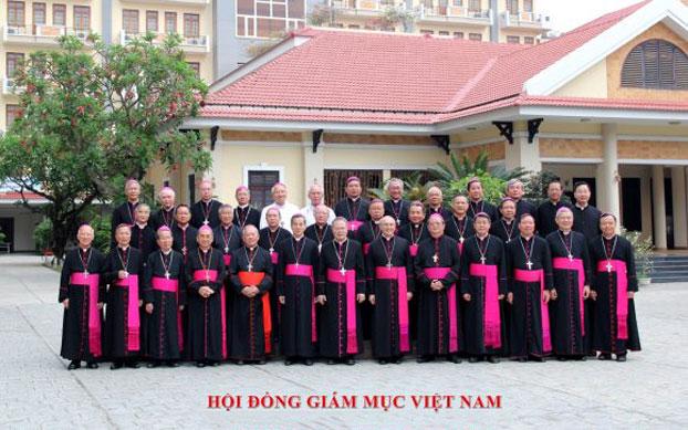 Hội Đồng Giám Mục Việt Nam tại Hội nghị thường niên kỳ 1, tháng 4 năm 2017 ở Nha Trang. (Ảnh minh họa)