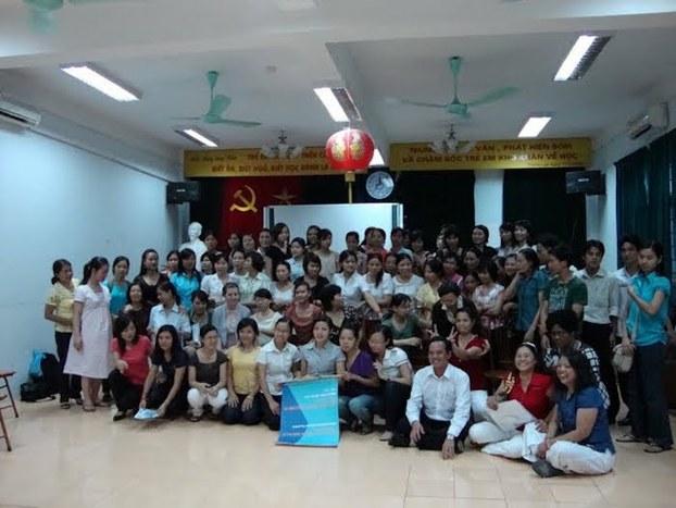 Hình minh hoạ. Một workshop của ICEVN ở Việt Nam hồi năm 2009