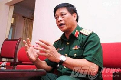 Thượng tướng Võ Tiến Trung.