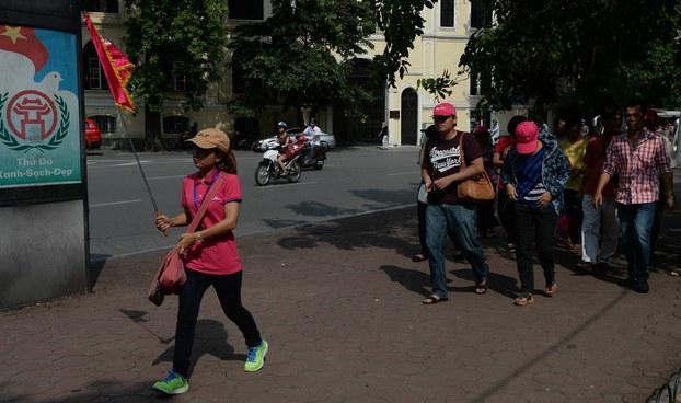 Khách Trung Quốc sang du lịch Việt Nam (Ảnh minh họa)