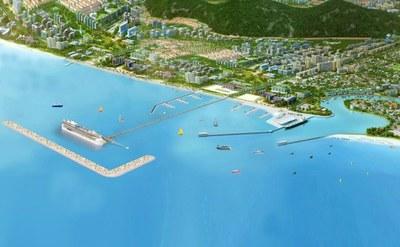 Một phối cảnh quy hoạch đảo Phú Quốc.