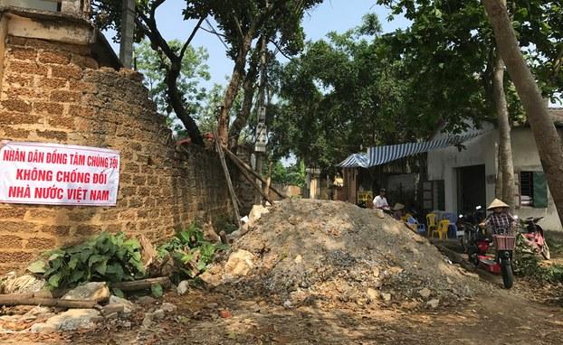 Người dân Đồng Tâm tuyên bố không chống đối Nhà nước Việt Nam.