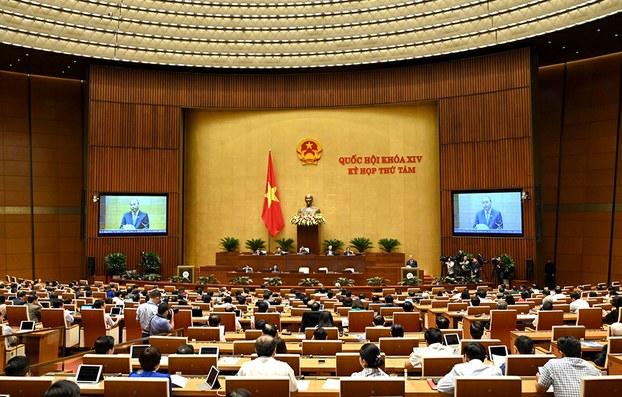 Thủ tướng Nguyễn Xuân Phúc tại buổi trả lời chất vấn của Quốc hội chiều ngày 08/11/19.