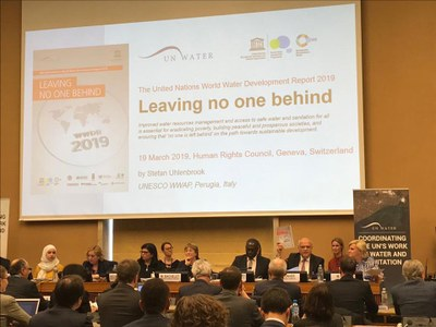 Hội thảo về Ngày Nước Thế Giới 2019 tại Geneva, Thụy Sĩ hôm 19/3/2019.