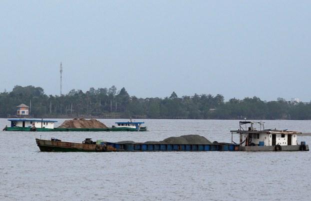 Sông Mê Kông tại TP Cần Thơ