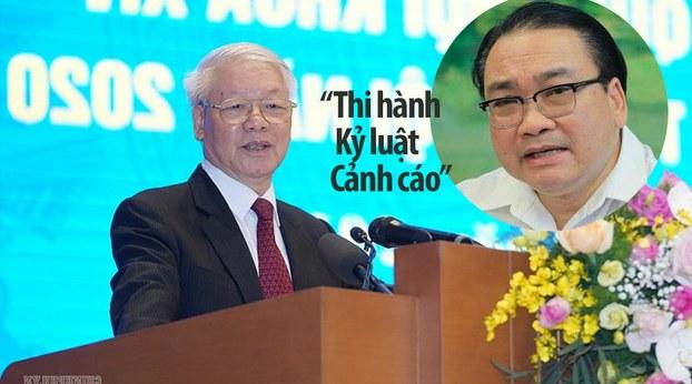 Sai phạm của ông Hoàng Trung Hải liên quan đến dự án mở rộng Công ty Gang Thép Thái Nguyên