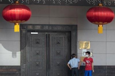 Hình minh hoạ. Lãnh sự quán Trung Quốc tại Houston, TX bị đóng cửa hôm 22/7/2020