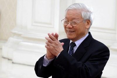 Hình minh họa. Tổng Bí thư - Chủ tịch nước Nguyễn Phú Trọng hôm 26/2/2019