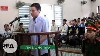 Hồ Duy Hải tại một phiên xử