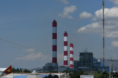 Hình minh hoạ. Nhà máy nhiệt điện Vĩnh Tân do Trung Quốc đầu tư
