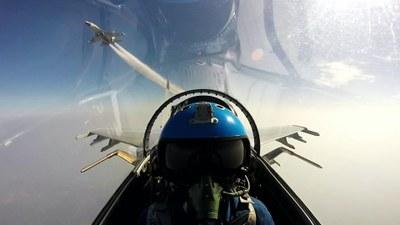 Hình minh hoạ. Hai máy bay chiến đấu của Trung Quốc tập trận ở Biển Đông gần đảo Hải Nam