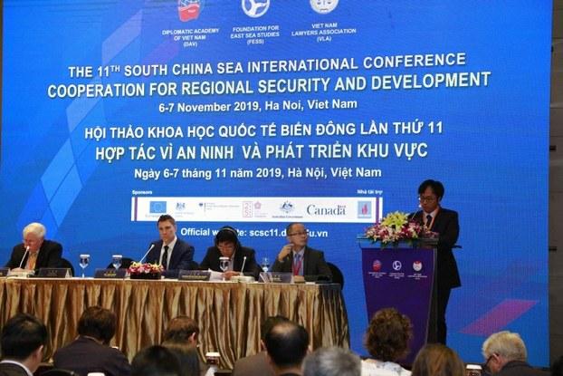 Hình minh họa. Hội thảo Biển Đông lần thứ 11 ở Hà Nội từ ngày 6 đến 7 tháng 11 năm 2019