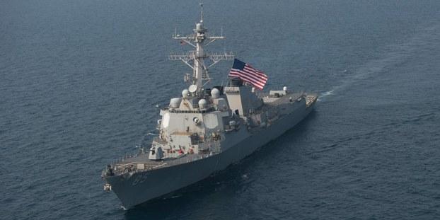 Hình minh hoạ. Tàu USS McCampbell của Hải quân Mỹ