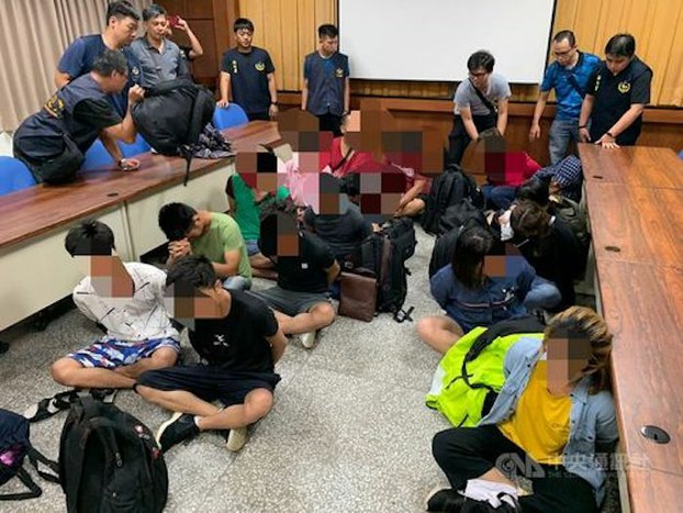 Những người Việt bị Đài Loan bắt giữ