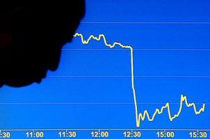 Ảnh minh họa: Chỉ số Hang Seng tại HongKong giảm vào tháng 10, 2008