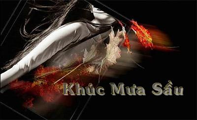 Khúc mưa sầu, ca khúc đầu tiên của nhạc sĩ Trần Duy Đức.