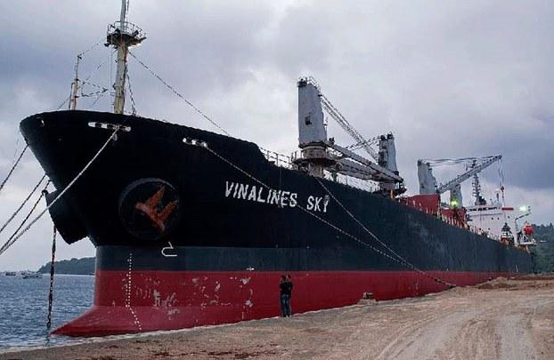 Tàu Vinalines Sky qua hai lần đấu giá vẫn chưa chào bán thành công