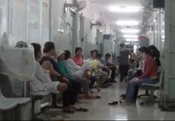 Khu khám bệnh ở Bệnh Viện Ung Bứu TPHCM (ảnh minh họa). RFA PHOTO.