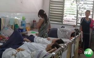 Một phòng bệnh ở Bệnh Viện Ung Bứu TPHCM (ảnh minh họa).