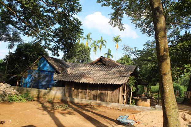 Nhà của đồng bào Mường ở Bá Thước, Thanh Hóa.