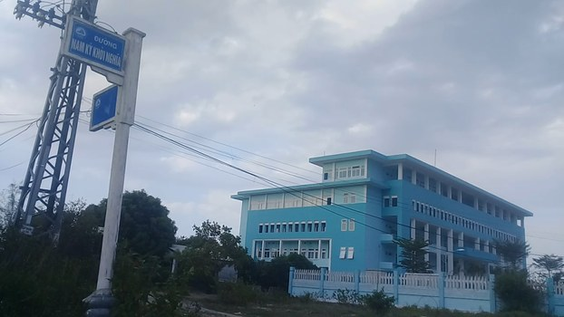 Một góc của dự án làng đại học ở Đà Nẵng