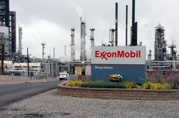 Hình minh họa. Hình chụp hôm 21/9/2016 tại mọt nhà máy lọc dầu của ExxonMobil ở Mỹ