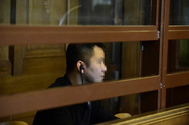 Bị cáo Nguyễn Hải Long tại Tòa Thượng Thẩm Berlin.