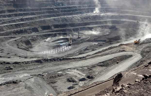 Một mỏ khai thác đất hiếm tại Nội Mông, Trung Quốc. Ảnh chụp ngày 30/5/2019.