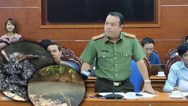 Cập nhật thông tin vụ xả dầu thải làm ô nhiễm nước Sông Đà cung cấp cho Hà Nội