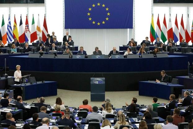 Hình minh họa. Nghị viện Châu Âu họp hôm 16/7/2019