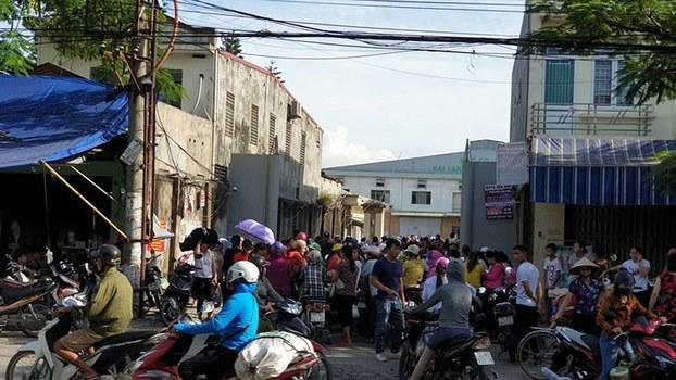Hàng ngàn công nhân công ty Kai Yang (Hải Phòng)lo lắng mất việc làm sau khi ông chủ Đài Loan biến mất