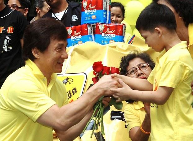 Diễn viên Hong Kong Jackie Chan tức Thành Long