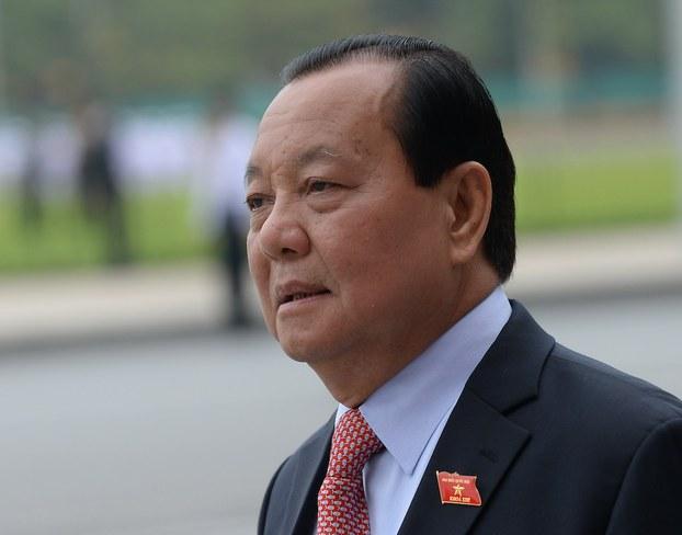 Hình minh hoạ. Cựu Bí thư thành uỷ TP. Hồ Chí Minh Lê Thanh Hải. Hình chụp hôm 20/5/2015 ở Hà Nội