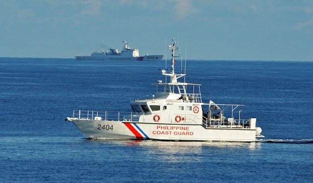 Hình minh hoạ. Tàu hải cảnh của Trung Quốc ở Biển Đông