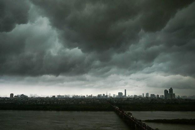 Một gốc hình ảnh thời tiết tại Hà Nội.(Ảnh minh họa)