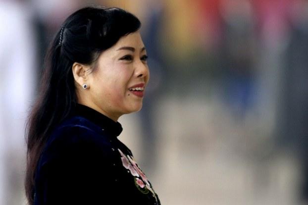 Bà Nguyễn Thị Kim tiến