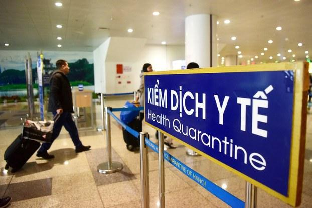 Hành khách về đến sân bay sẽ được cách ly theo quy định