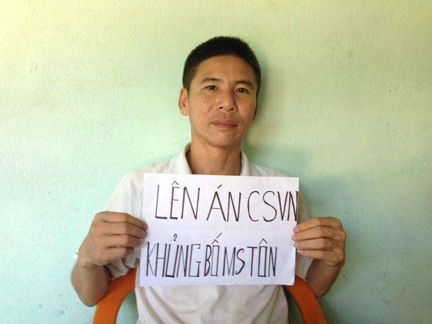 Cựu tù nhân chính trị Nguyễn Trung Trực.