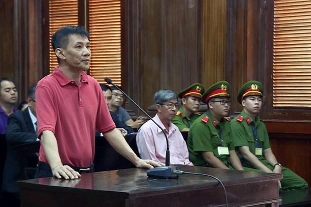 Hình minh họa. Ông Michael Phương Minh Nguyễn tại phiên tòa sở thẩm ở thành phố Hồ Chí Minh hôm 24/6/2019
