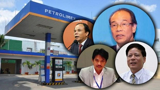 Vi phạm của Ban Thường vụ Đảng ủy Tập đoàn Xăng dầu Việt Nam & 4 cá nhân trong ban thường vụ (trong ảnh) đã ảnh hưởng xấu đến uy tín của đảng & tập đoàn
