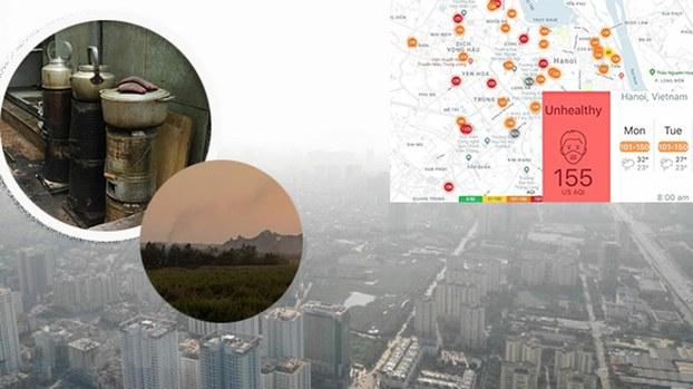 Hà Nội sẽ cấm dùng than tổ ong và đốt rơm rạ trên đồng ruộng để giảm ô nhiễm không khí trong thời gian tới