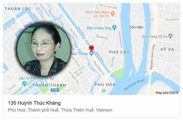 Bà Nguyễn Thị Thúy Hòa, cựu phó chủ tịch UBND tỉnh Thừa Thiên - Huế.