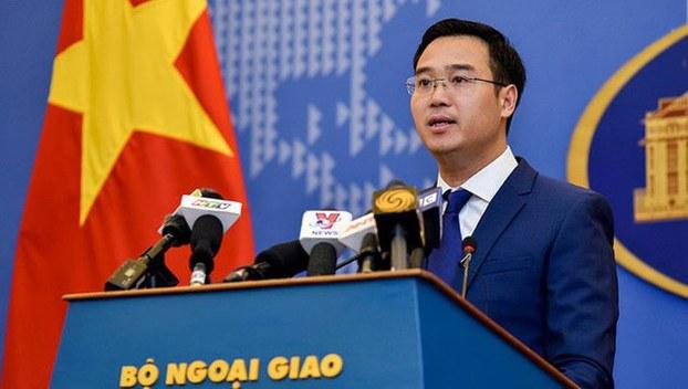 Phó Phát ngôn Bộ Ngoại giao Ngô Toàn Thắng, tại cuộc họp báo thường kỳ của Bộ Ngoại giao chiều ngày 7/11, đã trả lời câu hỏi của các phóng viên, về việc cư dân mạng kêu gọi tẩy chay diễn viên Jackie Chan (tức Thành Long) đến Việt Nam.