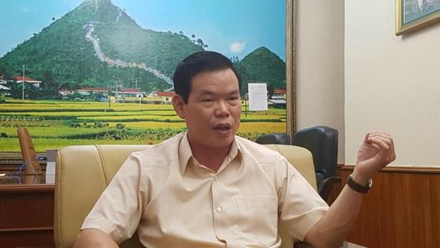 Bí thư Hà Giang Triệu Tài Vinh
