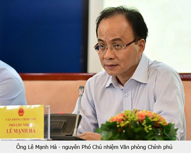 Ông Lê Mạnh Hà, nguyên Phó Chủ nhiệm Văn phòng Chính phủ bị kỷ luật liên quan thương vụ Mobifone mua 95% cổ phần AVG.
