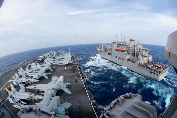 Hình minh họa. Tàu sân bay USS Ronald Reagan